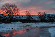 Pink Sunrise Photos - Winter Sunrise by Chad Dutson