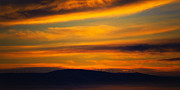 Kittitas Valley Prints - Winter Sunrise - Kittitas County - Washington Print by Steve G Bisig
