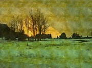 Brian Verhoog - Winter Sunset