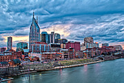 Patrick Collins - Winter Sunset Nashville...