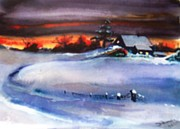 Sandi Stonebraker - Winter Sunset