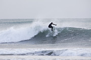Kodiak Photos - Winter Surfing by Tim Grams