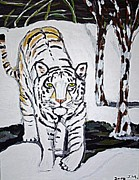 Judy Minderman - Winter Tiger