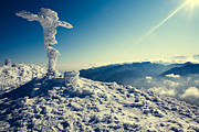 Freezing Originals - Winter top of the mountain by Serhii Odarchenko