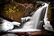 Todd Hanes - Winter waterfall