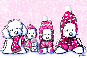 Kim Niles - Winter Whimsy Maltese