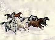 Whisper Paintings - Winter Wishperer by Melly Terpening