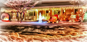 Minneapolis Mixed Media - Winter Wonderland by Todd and candice Dailey
