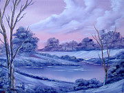 Drifting Paintings - Winter Wonderland by Cynthia Adams