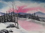 Winter Wonderland Print by Kevin  Brown
