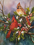 Cheryl Borchert Posters - Winter Wonders Poster by Cheryl Borchert