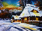 Pathway Paintings - Winter Wonders by Ryszard Sleczka