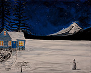 Wintry Originals - Winters Eve by Ian Donley