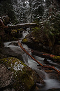 Stream Photos - Winters Stream Flow by Mike Reid