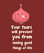 Wipe Off Your Tears Print by Neelanjana  Bandyopadhyay