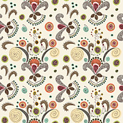 Janet Antepara - Wired Flower Pattern