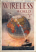 Nineteen-tens Art - Wireless World 1916 1910s Uk Radios by The Advertising Archives