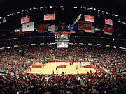 Athletics Photo Prints - Wisconsin Badgers Kohl Center Print by Replay Photos