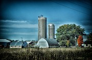 Planet Factory Framed Prints - Wisconsin Farm 4 Framed Print by Todd and candice Dailey