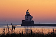 Douglas County Wisconsin Acrylic Prints - Wisconsin Point Lighthouse - FS000216 Acrylic Print by Daniel Dempster