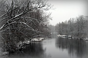 Wisconsin River Print by Kay Novy