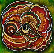 Chakra Paintings - Wisdom Spirit Eye by Deborha Kerr