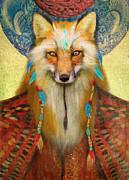 Wise Fox Print by Aimee Stewart