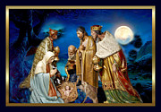 Nativity Digital Art - Wise Men Still Seek Him 2 by Karen Showell