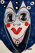 Wise Woman Framed Prints - Wise Woman Framed Print by Lady Picasso Tetka Rhu