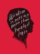 Wisdom Digital Art Posters - Wise Words Poster by Budi Satria Kwan