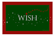 Susan M. Smith Prints - WISH and Stars Print by Susan Smith