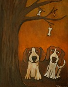 Hounds Originals - Wish Bones Grew on Trees by Areti toula Clark