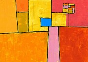 Abstract Painting Originals - Wish You Were Here by Douglas Simonson