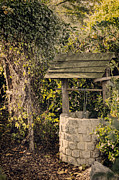 Sympathy Metal Prints - Wishing Well Metal Print by Heather Applegate