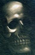 Gregory Dyer - Wispy Skull