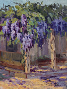 Diane McClary - Wisteria in Bloom