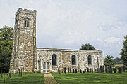 Shaun White Prints - Wistow Church 4 Print by Shaun White