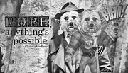 Animal Shelter Digital Art - With Hope Anything Is Possible 2 by Kathy Tarochione