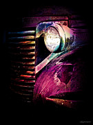 Stylized Photography Posters - With One Headlight Poster by Colleen Kammerer