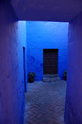 Blue Walls Prints - Within bue walls Print by RicardMN Photography
