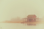 Gloomy Prints - Within The Fog Print by Karol  Livote