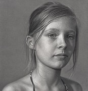 Pencil Drawing Drawings - Without Time by Dirk Dzimirsky