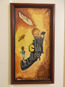 Without Wings Print by Carlos Rodriguez Yorde
