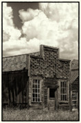 Abandoned Buildings Prints - Withstanding The Years Print by Sandra Bronstein