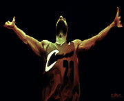 Lebron James Digital Art - Witness by Brian Reaves