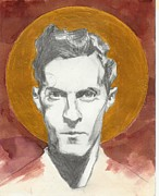 Icons Drawings Originals - Wittgenstein L by Agenor  Marti