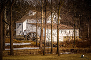 Feed Mill Framed Prints - Wolcott Mill Framed Print by Grace Grogan