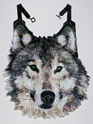 Prairie Dog Jewelry Originals - Wolf  by Christy Nicholas