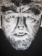Universal Monsters Framed Prints - Wolf Man Framed Print by Jessica Myler