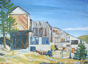 Nederland Originals - Wolf Tongue Mine Mill by Al Hart